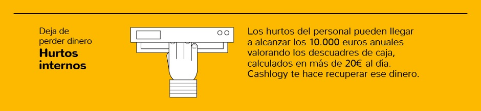 hurtos internos Cashlogy Lucla